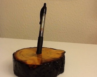 Pinyon Pine Pen Holder
