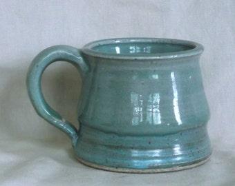 Green and Turquoise Mug