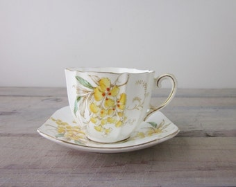 Vintage Paragon Bone China Teacup Wistaria