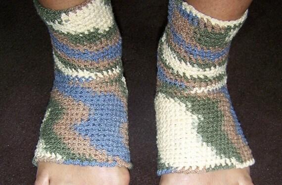 Crochet Pattern Yoga Pants : Crochet Yoga Socks Pattern PDF Easy Crochet Pattern Instant
