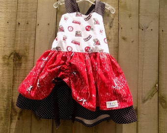 Bama Swirley Dress  size 5