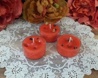Goddess Hathor Tea Lights, Soy Tealights, Soy wax