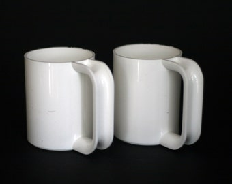 vintage heller maximugs by massimo vignelli set of two