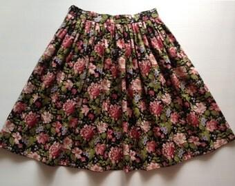 Cotton skirt. Summer night. Size S. Юбка из хлопка. 42-44 размер