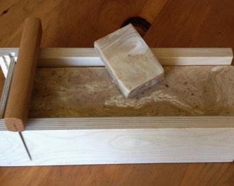 Oatmeal, Honey & Milk Cold Process Soap