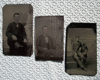 3 Tintypes - Youth, Sweet & Innocent