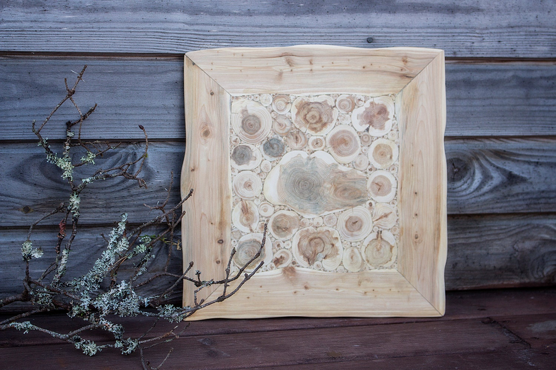 juniper wood wall hanging natural wooden wall art handmade. Black Bedroom Furniture Sets. Home Design Ideas