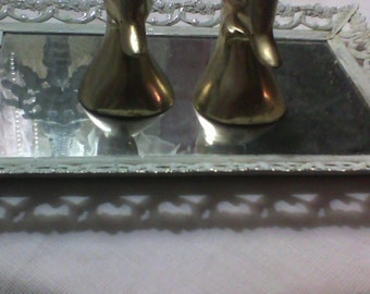 Cute Little Brass Duck Bookends