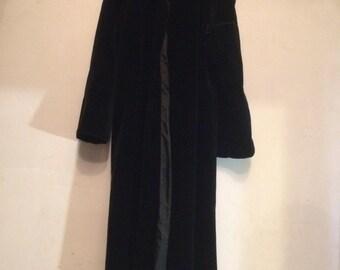 Beautiful Velvet Maxi Coat