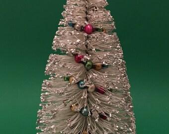 Large Christmas Bottle Brush Tree