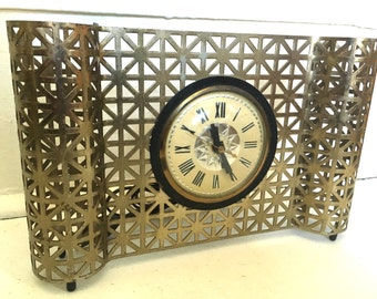 Mid Century Modern Atomic Clock
