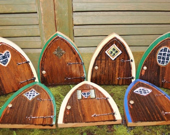 Gnome doors fairy doors faerie doors elf doors 12 inch for Tinkerbell fairy door