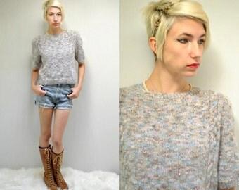 Angora Sweater  //  Fluffy Knit Sweater  //  THE JORDAN