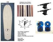 Custom 35x9 El Matador Board with engraving
