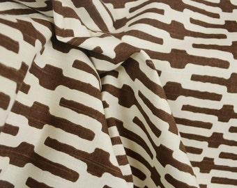 Links Chocolate PKaufman Annie Selke Fabric