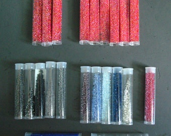 supplies destash -- seed bead extravaganza!