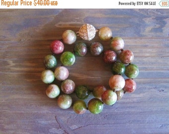 20% OFF ON SALE Agate Hand Knotted Necklace, Gemstone Jewelry