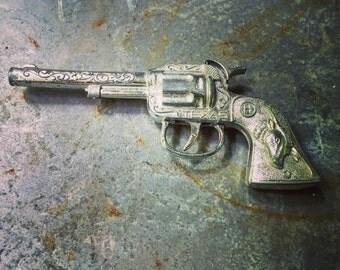 Hubley Tex Cap Pistol / Cap Gun / Cowboy