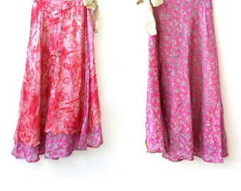 Double-Sided Gypsy Skirt.