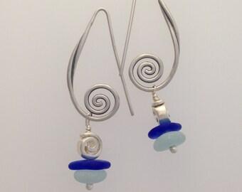 Antique Swirl Earrings