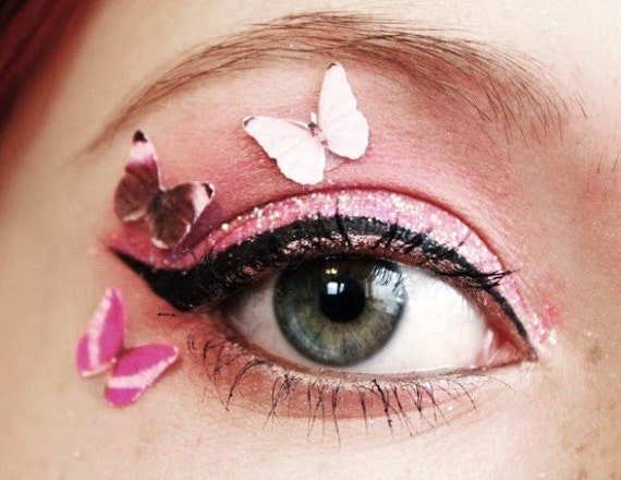 Butterfly Eye Decals