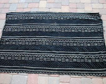 """African Mud Cloth 42""""x62"""""""