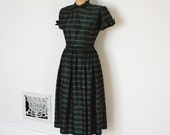 ON SALE - Vintage 50s Dress - 1950s Party Dress - The Maria