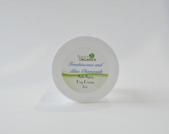 Frankincense & Blue Chamomile Anti-Aging Night Cream 2oz