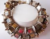 Sterling silver Navajo necklace vintage estate