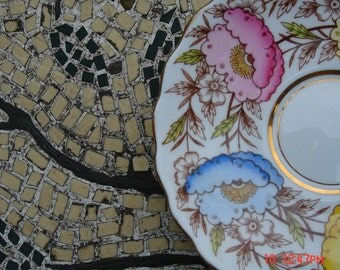 Vintage Rosina Bone China Saucer - Made in England