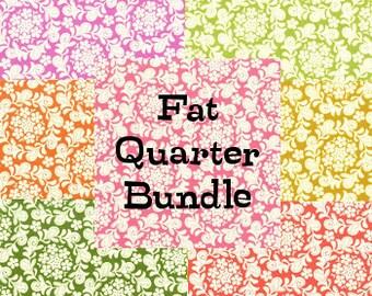 Strawberry Moon - Petit Henna Garden Fat Quarter Bundle- Michael Miller Fabric