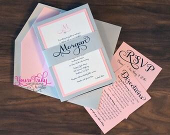 custom bat mitzvah invitations – Etsy