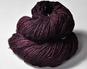 Cursed Bloodstain  - Tussah Silk Fingering Yarn