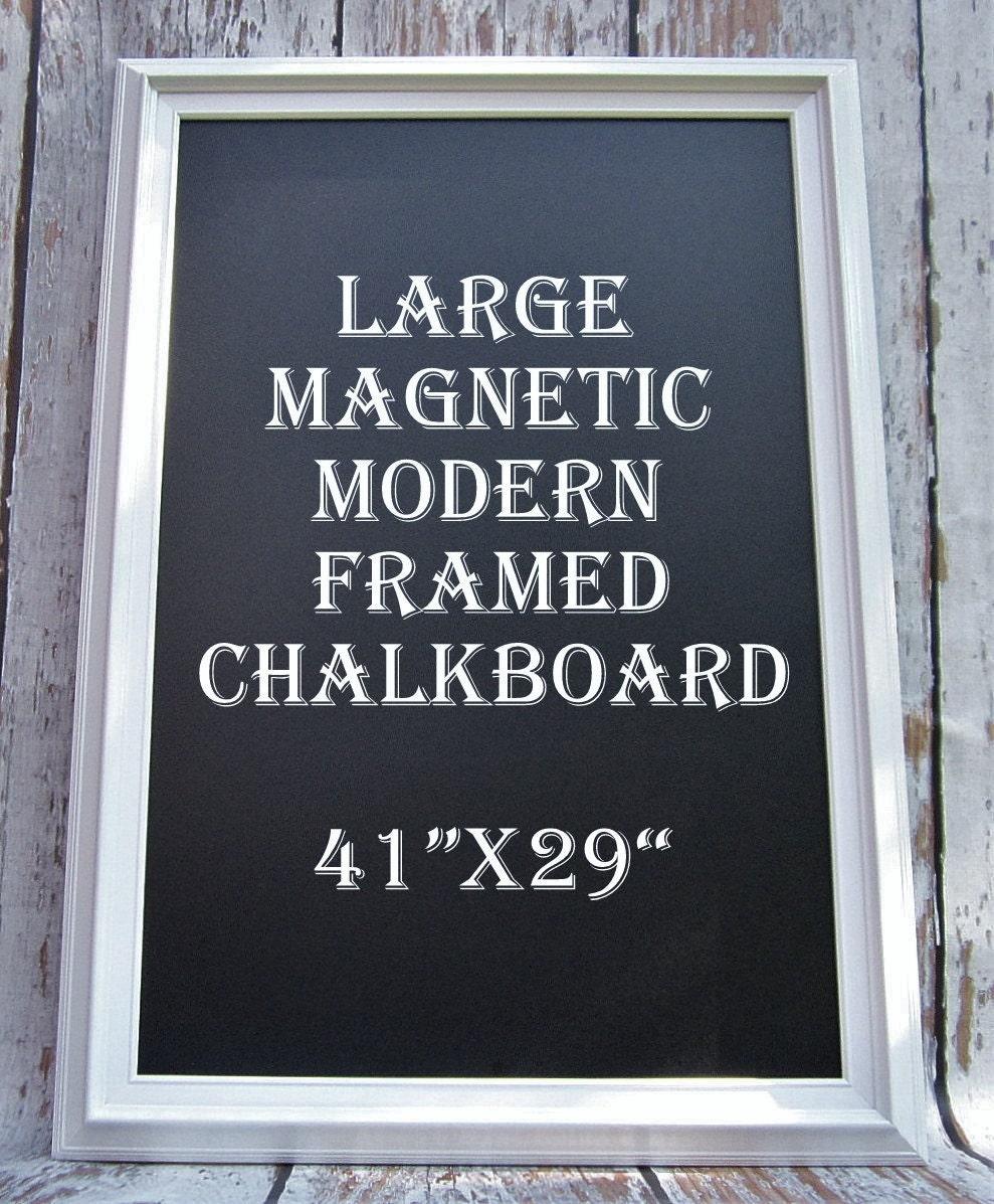 Kitchen Chalkboard: LARGE KITCHEN CHALKBOARD Modern Frame Home Chalk Board