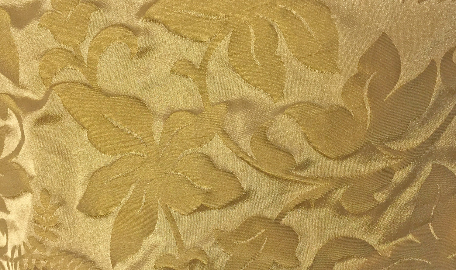 Tone on tone gold damask jacquard fabric old world for Jacquard fabric