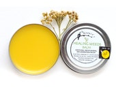 Bear Meadow Edition - Healing Weeds Balm - Bear Medicine - Yarrow, Plantain and St. John's Wort - 1 oz tin