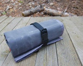 Wrench Tool Roll - Gray with Gray Trim