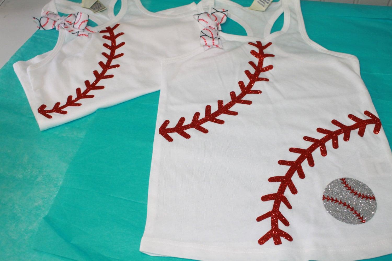 Shirt design with laces - Baseball Laces Tank Girls Baseball Bling Shirt Baseball Bling Lil Sister Baseball Shirt Baseball Sister Shirt Baseball Laces Shirt