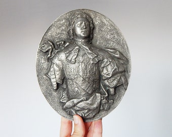 french metal plaque decoration french