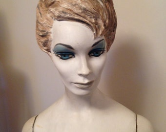 Amazing hand painted  1960's mannequin