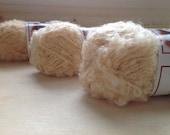 MOHAIR BOUCLE YARN - Blonde - Doll Hair 10 - 50gr