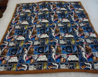 Star Wars Baby Quilt and Diaper Stacker #14