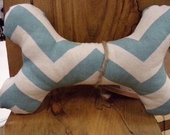 Fun Fabric Dog Toy Bone Squeaker