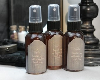 Hair Growth Spray, Natural Hair Spray, Herbal Hair, Horsetail, Rosemary hair serum, Hair Growth, Natural Hair Growth