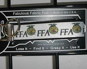 FFA Future Farmers of America ~ C58 ~ Key Chain Fob ~ Zipper Pull