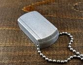 Pill Box Pendant Necklace Locket -  keychain Pill Case Unisex Future Cool Discreet Tiny locket - DTM Plain