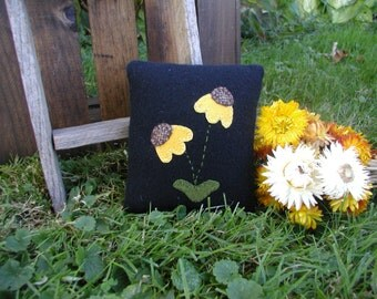 Primitive Coneflower Ornie Coneflower Pillow Coneflower Pin Keep