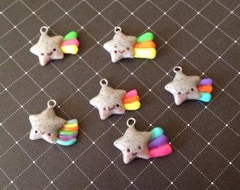 Rainbow Rock Stars necklaces