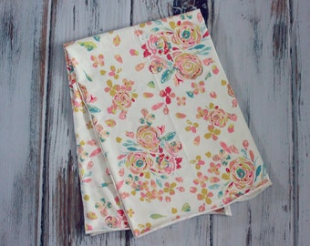 Art Gallery cotton knit fabric in Swifting Flora