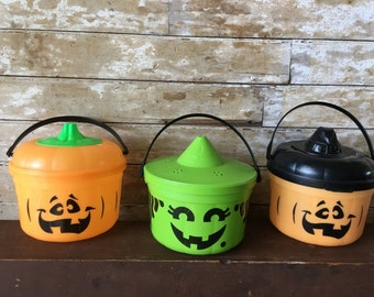 Vintage McDonalds Halloween Pails Some Cookie Cutters Adorable  1 of 3